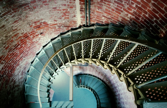 Cape Blanco Lighthouse Stairs
