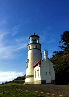 Heceta Head Lighthouse, Florence, Oregon.
