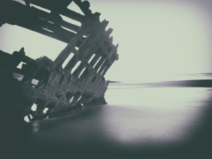 The Peter Iredale, Oregon.