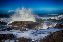 Thor's Pot of Gold, Thor's Well, Oregon.