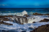 Thor's Well, Oregon.