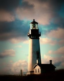 Yaquina Head Lighthouse, Newport, Oregon.
